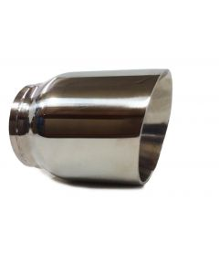 "3"" Stainless Steel Dual Wall Round Universal exhaust tip"