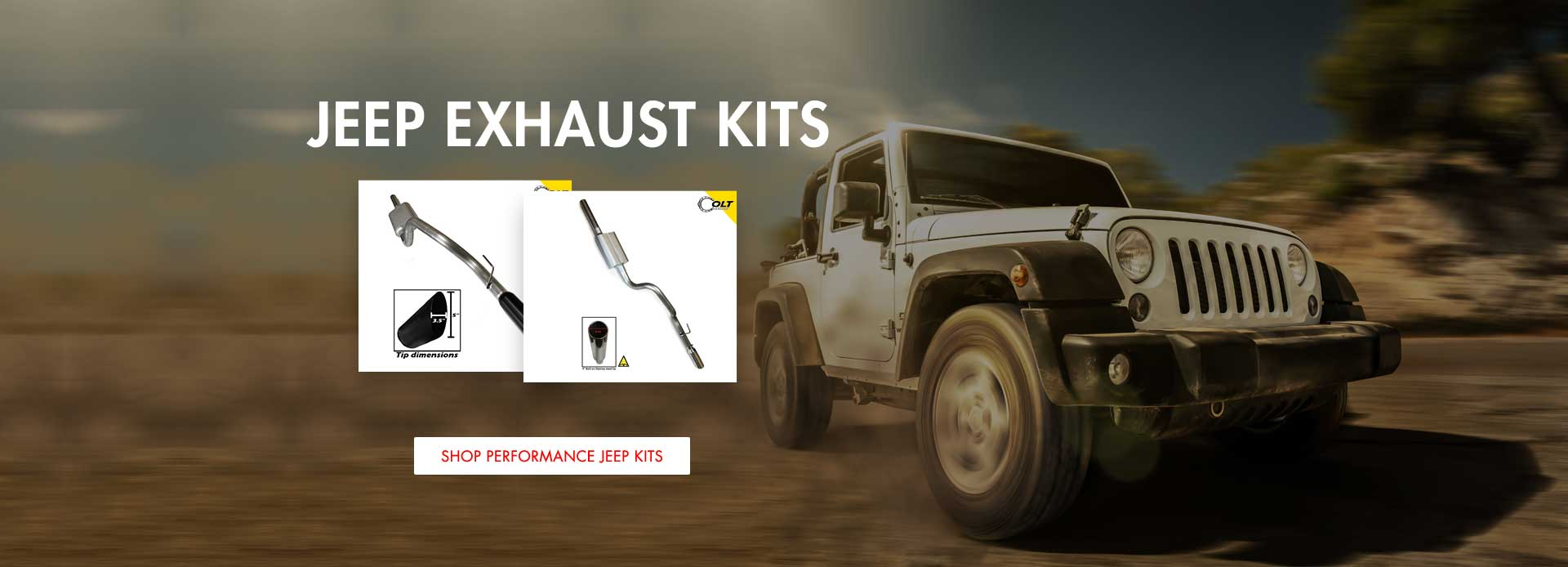 Jeep Exhaust Kits